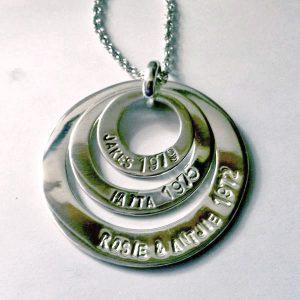 3 circle pendant