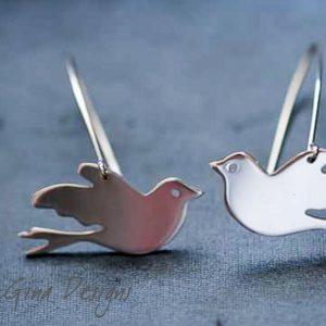 dove earrings