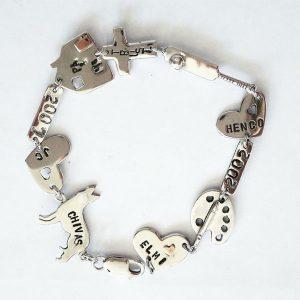 Life story bracelet