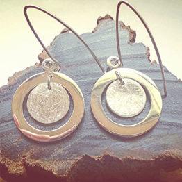 Two circle pendant